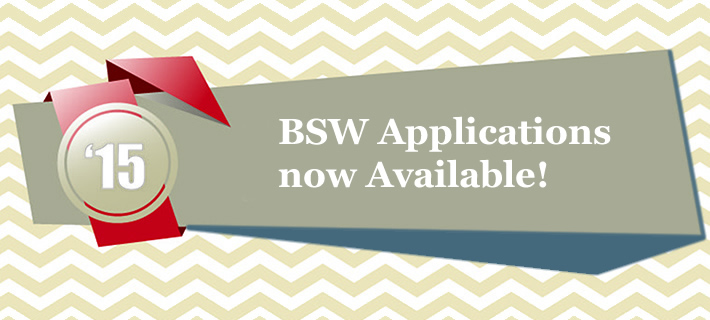 BSW Applications now available